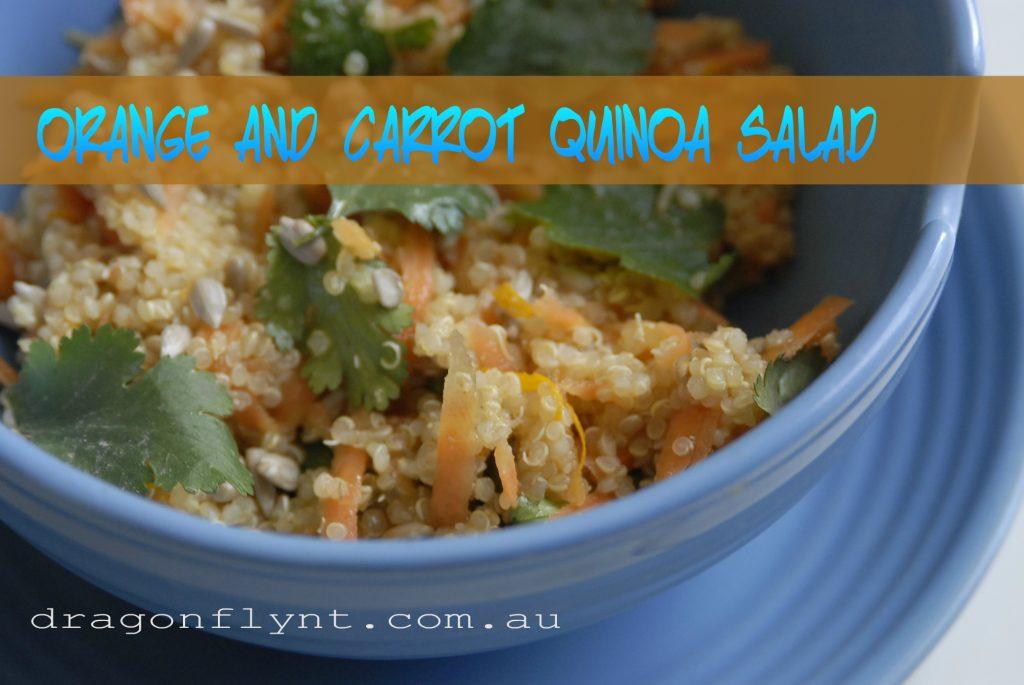 Orange & Carrot Quinoa Salad