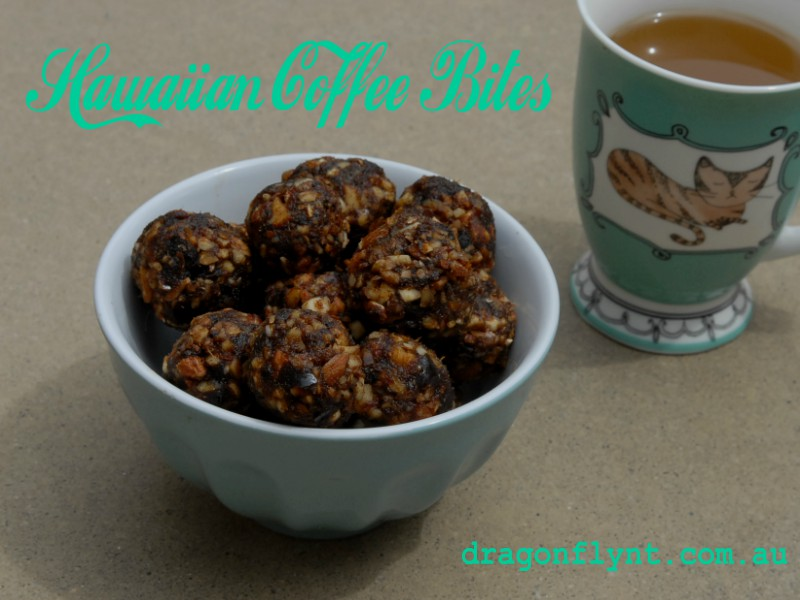 Hawaiian coffee bites