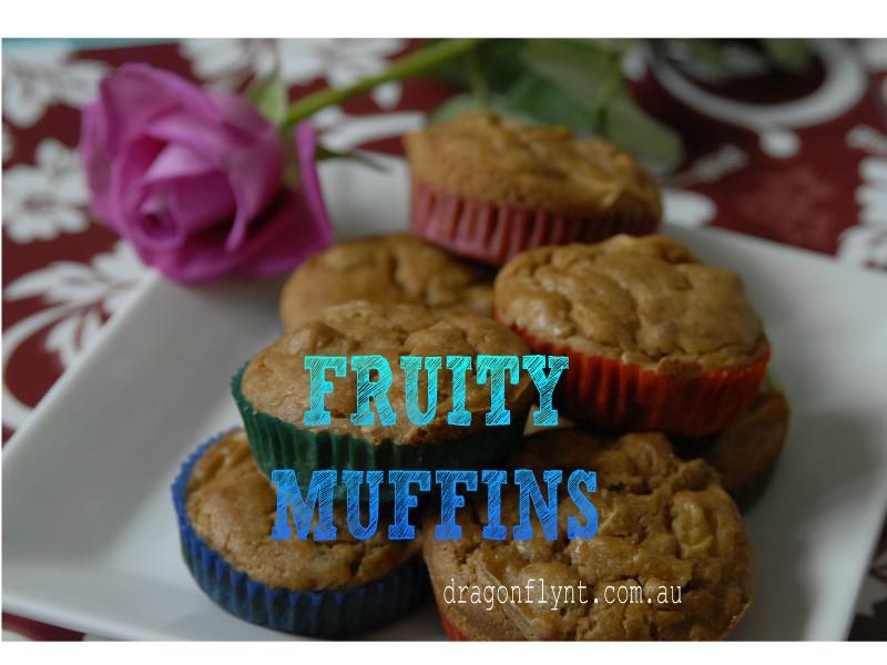 Fruit Muffins GF