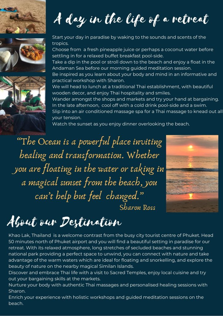 Nourished in Nature Brochure 3