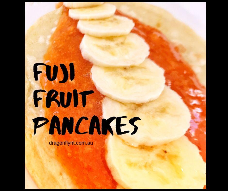 Fuji Fruit Pancakes