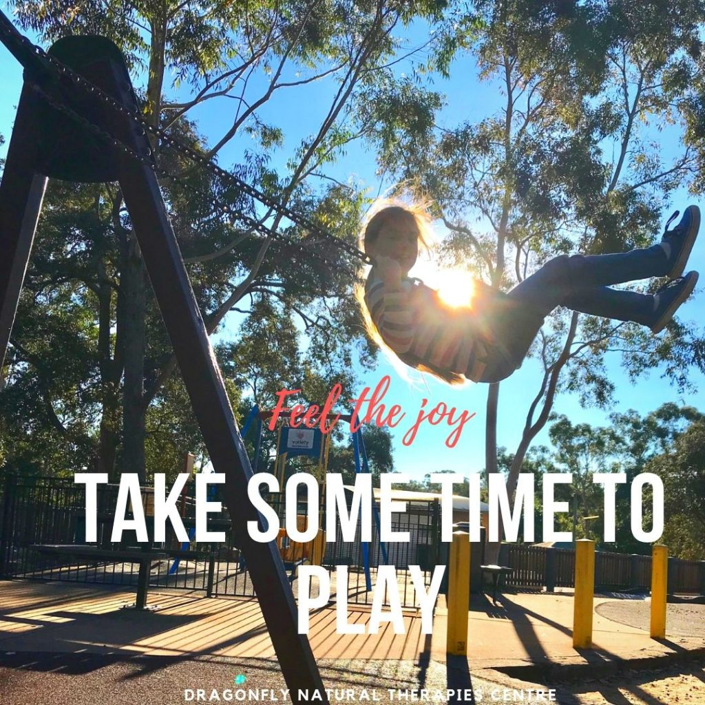 Take some time to play and feel the joy.